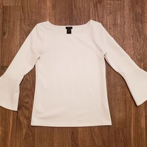 Ann Taylor Factory Bell Sleeve Blouse